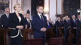 Duda: Polonya'nın NATO'nun varlığına daha fazla ihtiyacı var