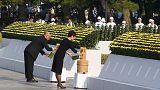 Хиросима вспоминает погибших от атомной бомбы