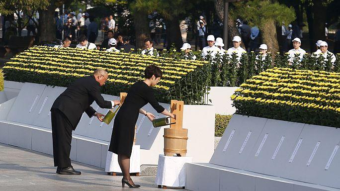 70 éve történt - az atomtámadásra emlékeztek Hirosimában