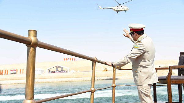Αίγυπτος:Ιστορική ημέρα για τη ναυσιπλοΐα-εγκαινιάστηκε η νέα Διώρυγα του Σουέζ