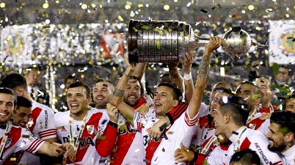 River Plate faz o tri na Libertadores