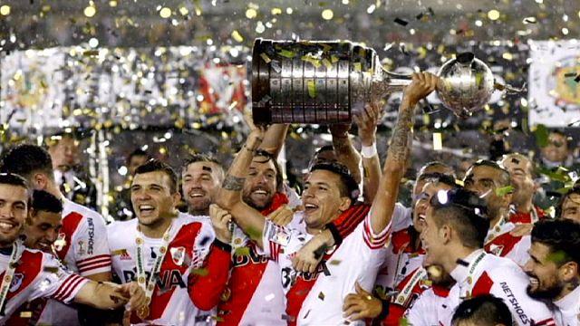 ريفر بليت الأرجنتيني يفوز بكأس ليبرتادوريس