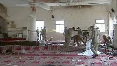 Deadly bomb attack inside security HQ 's mosque in Saudi Arabia