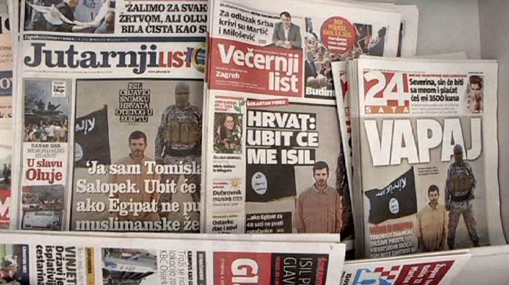 Croatie : inquiétude autour du sort du Croate enlevé par l'EI en  Egypte