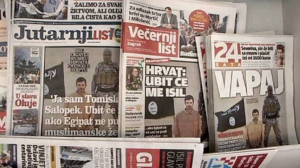 """""""Jihadistas"""" egípcios ameaçam matar croata caso Cairo não liberte muçulmanas"""