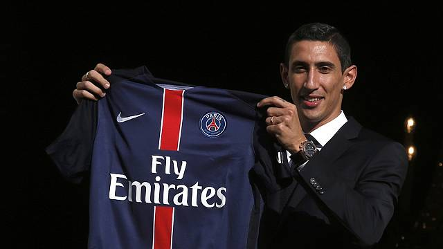 Di Maria unveiled at PSG