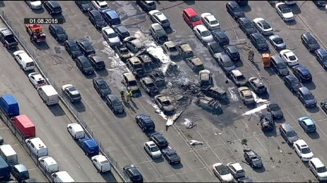 Bin Laden pilot landed too late in fatal crash in England
