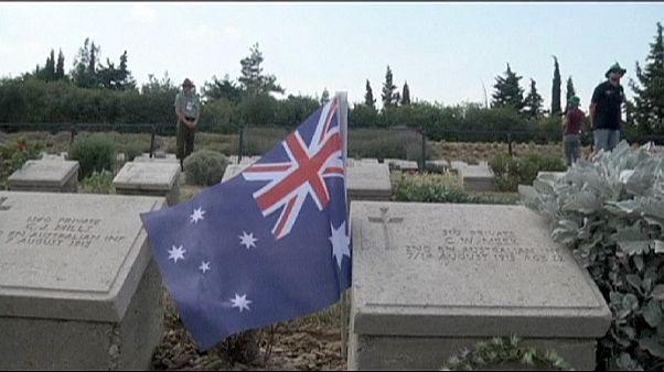 Australianos e Neozelandeses celebram centenário da batalha de Lone Pine na Turquia