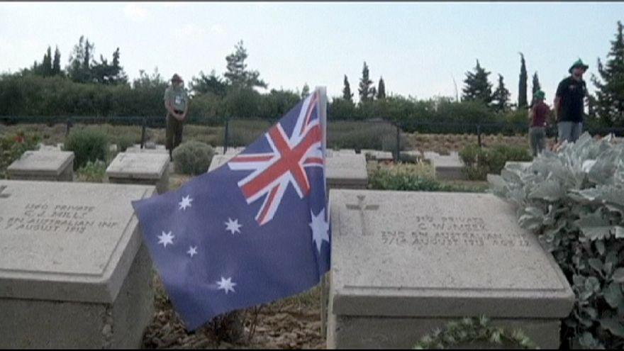 Gedenken an die Toten der Schlacht von Gallipoli