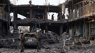ثمانية قتلى و 200 جريح في هجوم بشاحنة مفخخة في كابول