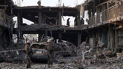 Bombenanschlag in Kabuls Innenstadt