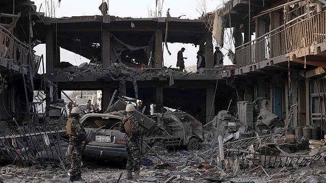 """Движение """"Талибан"""" отрицает свою причастность к взрыву в Кабуле"""