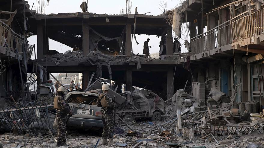 Al menos ocho muertos y más de 200 heridos tras la explosión de un camión bomba en Kabul