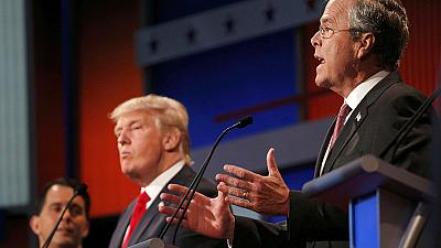 Who came out top in the US Republican television debate?