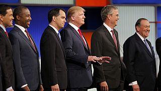 ABD'de Cumhuriyetçi aday adayları canlı yayında kozlarını paylaştı