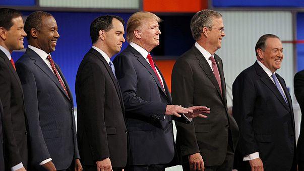 USA: primo dibattito fra candidati repubblicani, spiccano Trump e Jeb Bush