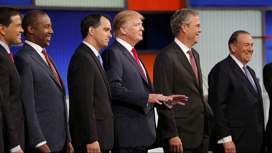 Primaires républicaines : Donald Trump se démarque lors du premier débat télévisé