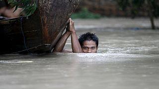 Árvizek Mianmarban