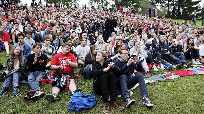 اولین کمپ جوانان حزب کارگر نروژ چهار سال پس از کشتار در اتویا
