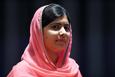 Malala Yousafzai at U.N. headquarters in New York last year.