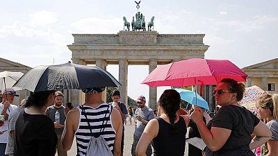 L'Allemagne touchée par la canicule
