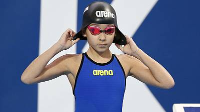 Alzain Tareq, star a 10 anni: è la più giovane nuotatrice di sempre a un Mondiale