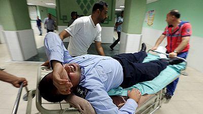 Israeli air strike on Gaza Strip leaves four wounded