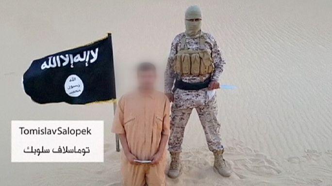 Horvát túsz kivégzésével fenyegetőzik az Iszlám Állam