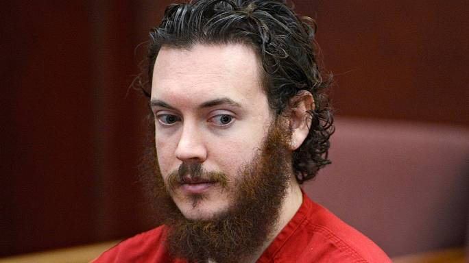 Colorado cinema killer sentenced to life in prison