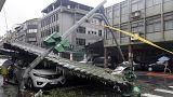 Cuatro muertos en Taiwan y miles de evacuados en China por el paso del tifón Shoudelor