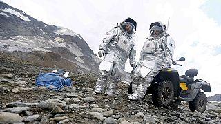 Entraînement pour aller sur Mars