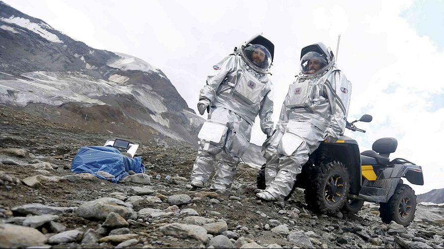 الاستعدادات للسفر إلى المرّيخ