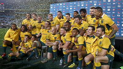 Rugby Champioship: trionfa l'Australia, All Blacks battuti 27-19