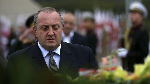 Georgien gedenkt Opfer des Kaukasuskriegs
