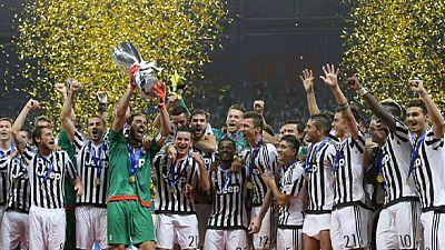 Juventus beat Lazio to lift Italian Super Cup