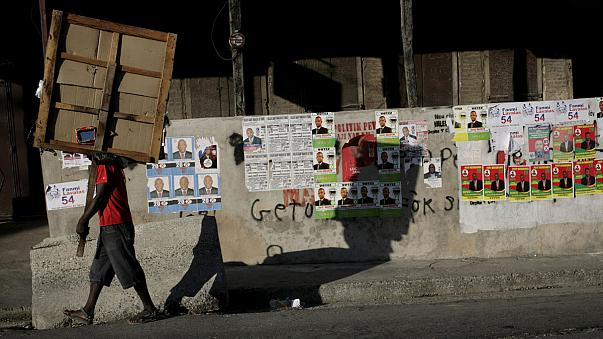 Haiti seçimlerin ilk turu için sandık başına gitti