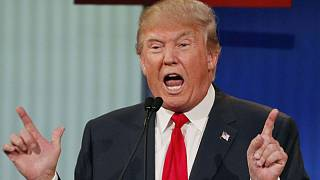 Nemkívánatos vendég lett Donald Trump
