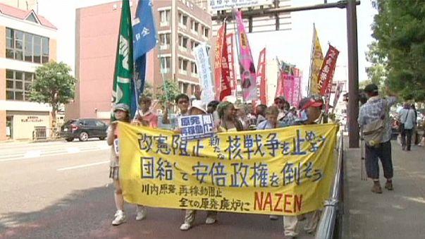 Nagasaki marca el rechazo al proyecto de ley de seguridad del Gobierno japonés