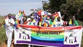 Uganda: Parada de Orgulho Gay