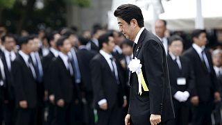 Nagaszaki hetven évvel ezelőtti bombázására emlékeztek