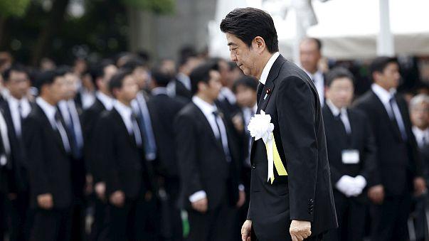 في ذكرى ناغازاكي، شينزو آبي يجدد تعهده بعدم امتلاك اليابان أسلحة نووية
