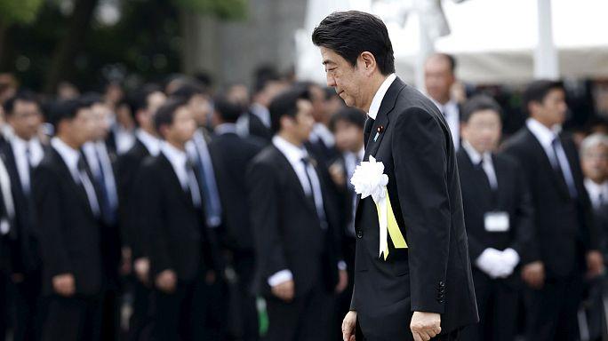 В Нагасаки отдали дань памяти погибшим в результате американской атомной бомбардировки 70 лет назад