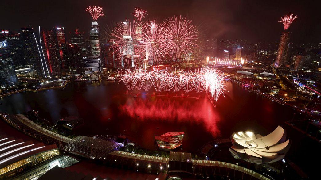 Singapur feiert 50 Jahre Unabhängigkeit