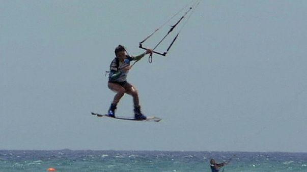 Kitesurf: Bruna Kajiya trionfa a Fuerteventura