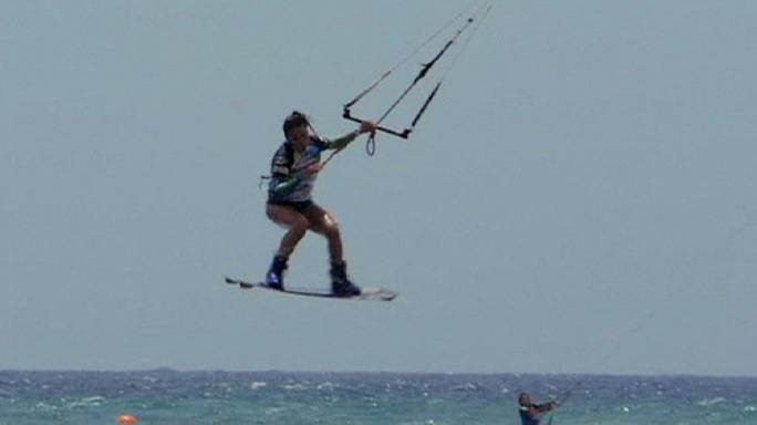 Kanarya Adaları'nda sörf zamanı