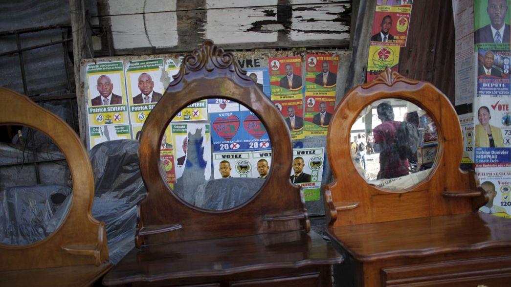 Haití celebra elecciones legislativas en medio de un caos técnico