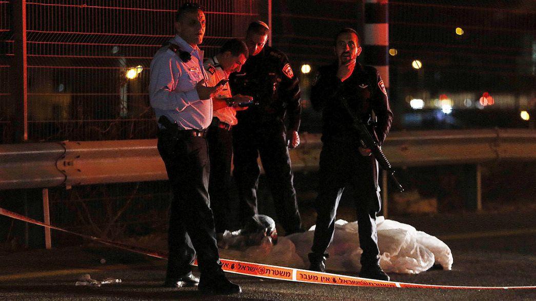 Un Palestinien abattu par des policiers israéliens