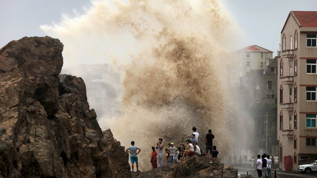 Rescue work continues as typhoon hits eastern China