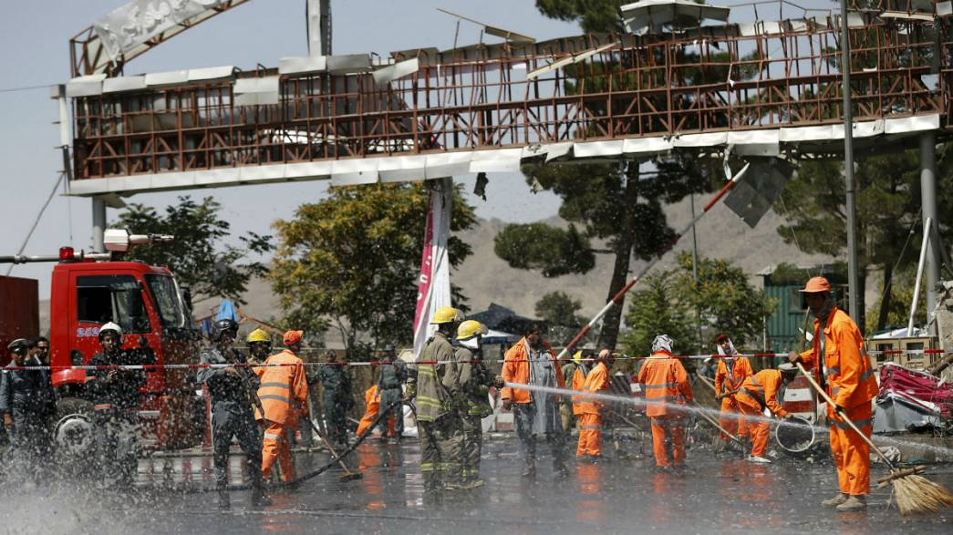 Taliban suicide bomber strikes near Kabul airport