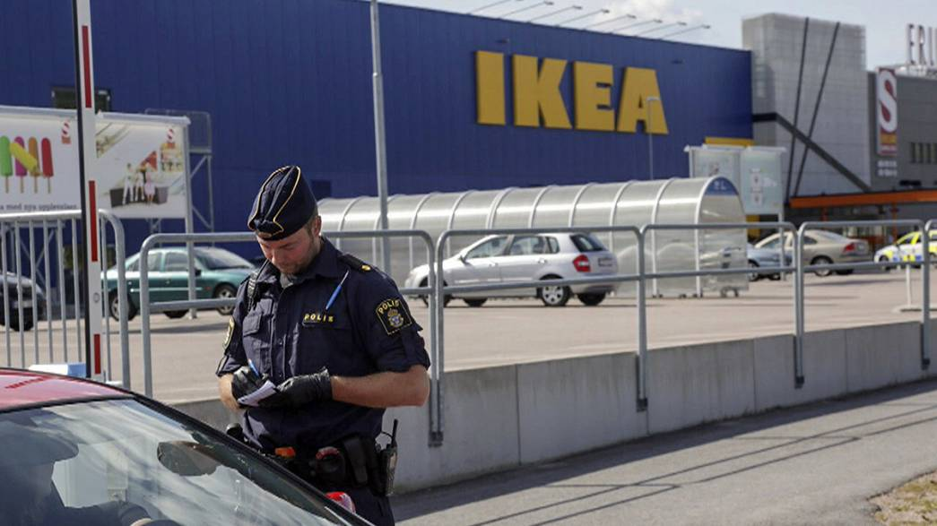 Two killed, one seriously injured, in Ikea knife attack